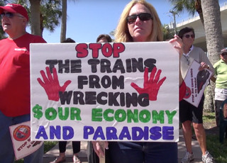 Rally to stop All Aboard Florida