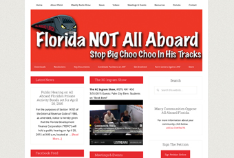 Florida NOT All Aboard