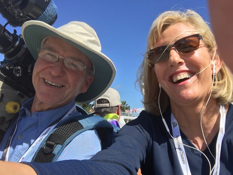 Hitching a ride with videographer Bob Lynch at The 2018 Honda Classic!